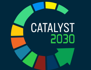 Catalyst 2030 is a global initiative seeking innovative and revolutionary approachesto accomplish the Sustainable Development Goals (SDGs) by 2030